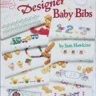 Cross stitch designer baby bibs 20 patterns Sam Hawkins American School needlework