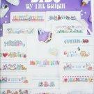 Leisure Arts 939 Bibs by the Bunch cross stitch patterns
