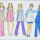 Simplicity 5421 maternity pattern size 6 bust 30 1/2 vintage top pants