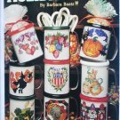Leisure Arts 2413 Holiday Mugs cross stitch design leaflet