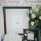 Leisure Arts 2241 Marriage Keepsakes cross stitch leaflet sampler