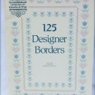 Gloria & Pat cross stitch book 125 designer borders patterns 42 pages