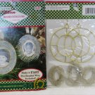2 Crafters Edition Beaded Heirloom photo ornament kits NEW makes 4 with beads