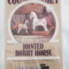 Jointed Hobby Horse pattern Country Charm Donna Gallagher #830