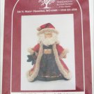"Santa 22"" door stop Hickory Stick Co unused sewing pattern"