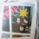 Better Homes Gardens Holiday Mobile plastic canvas embroidery craft kit