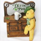 Sarah's Attic Irish bear at Pub figurine Michaud Gallery figurine