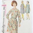 Simplicity 5213 maternity dress pattern sizes 10 to 12 vintage 1960s
