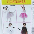 McCall 6182 ballerina tutu costume sizes 2 3 4 UNCUT pattern