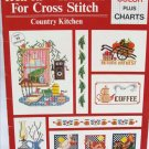 Country Kitchen Iron On transfers for Cross Stitch pattern book