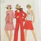 Simplicity 6547 misses top skirt cardigan pants Misses 14 B36 pattern