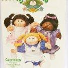 Cabbage Patch Kids Butterick 6934 pattern UNCUT 3 dresses pinafore