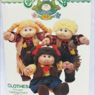 Cabbage Patch Kids Butterick 339 pattern UNCUT cowboy cowgirl outfits