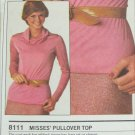 Simplicity 9111 misses pullover top pattern sizes 10 12 14 Stretch knits only