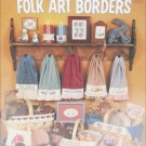 Leisure Arts 308 Folk Art Borders for towels and edges cross stitch leaflet