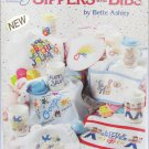 American School of Needlework 3618 Sippers and Bibs cross stitch book