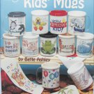 American School of Needlework 3591 Kids' Mugs cross stitch book