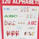 Leisure Arts 2285 for 120 Alphabets cross stitch booklet
