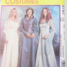 McCall 3797 Renaissance costume misses weskit cut to 6 others UNCUT 6 8 10 12 Pattern