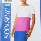 Butterick 5399 Misses dress sizes 18 20 22 UNCUT pattern See & Sew