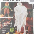 McCall 6221 Halloween patterns UNCUT scarecrow witch pumpkin ghost