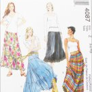 McCall 4087 Misses broomstick skirt sizes Large Xlarge UNCUT pattern