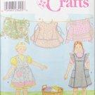 Simplicity 8916 child bib & waist apron sizes 3 4 5 6 7 8 UNCUT pattern