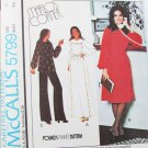 McCall 5799 misses dress top pants Knits only size 18 UNCUT pattern
