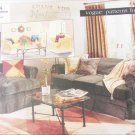 Vogue 2054 slipcovers  for sofas chairs UNCUT pattern