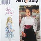 Simplicity 0616 toddler girls dress sizes 1/2 1 2 3 4 UNCUT pattern