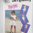 Simplicity 8388 girls and Barbie doll clothes pattern UNCUT size 2 & 4