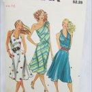 Butterick 3176 misses halter dress size 16 vintage pattern