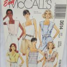 McCall 3514 misses blouses tops size large 18 to 20 pattern