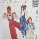 McCall 4426 girls jumpsuit jumper blouse size 12 pattern