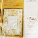 Creative Circle embroidery kit Dates to Remember complete
