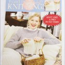 Leisure Arts 2984 I Can't Believe I'm Knitting instructions for beginners book