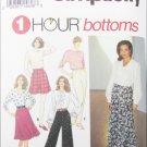 Simplicity 8677 misses pants skirt sizes LG XL pattern