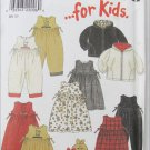 Simplicity 6796 child jacket romper dress hat sizes 1/2 1 2 3 4 patternNew Look