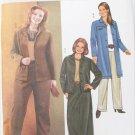 Butterick 3980 misses pants skirt jacket sizes 28W 30W 32W
