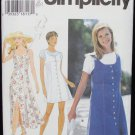 Simplicity 9614 misses dress jumper top size 18 20 22 pattern