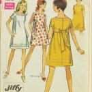 Simplicity 7659 misses dress size 13 jp bust 35 vintage 1968
