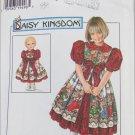 "Simplicity 7349 girl & 17"" doll dress sizes 3 4 5 6 pattern Daisy Kingdom"