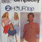 Simplicity 8373 pullover 2 hour top sizes LG XL