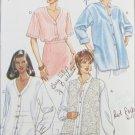 Butterick 3324 misses blouse & vest sizes 20 22 pattern