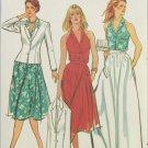 Butterick 3177 misses jacket halter top skirt size 16 bust 38 pattern