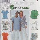 Simplicity 8351 misses top nursing aides sizes 20 22 14 pattern