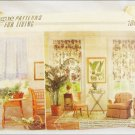 Vogue 1843 window treatment curtains and valences UNCUT