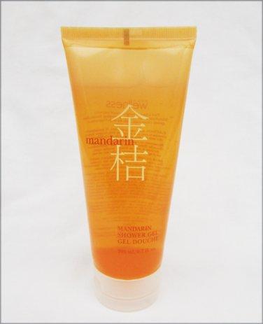 Avon Wellness Mandarin shower gel tube 6.7 oz