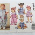 Butterick 5470 infants jumper romper jumpsuit and top sizes L XL