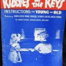 Easy Way to Play Piano Kids at the Keys vintage 1944 sheet music book